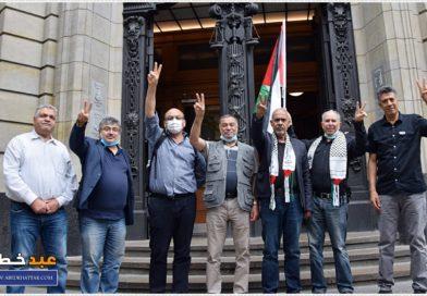 إنتصار الحق الفلسطيني في برلين
