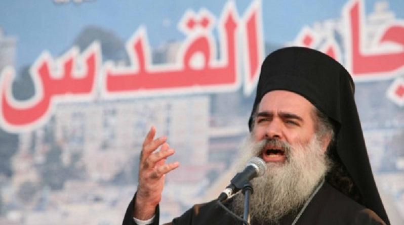 """سيادة المطران عطا الله حنا : """" استمرار الاستيطان مؤشر خطير على سياسة الامعان والتآمر"""""""