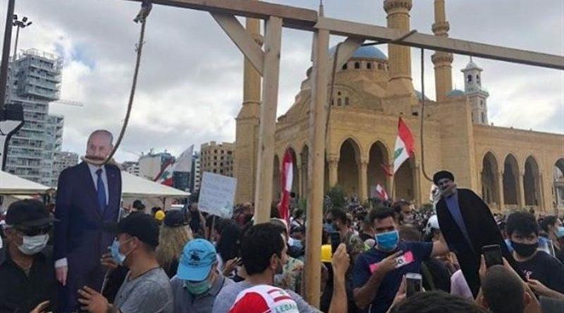 الأصح أيها اللبنانيون الشرفاء تعليق المشانق للبنانيين العملاء