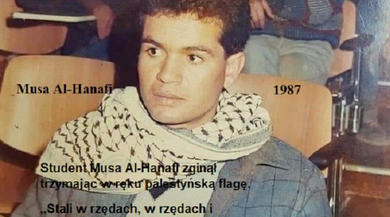 Musa Al-Hanafi zginął trzymając w ręku palestyńską flagę – Tekst Nidal Hamad